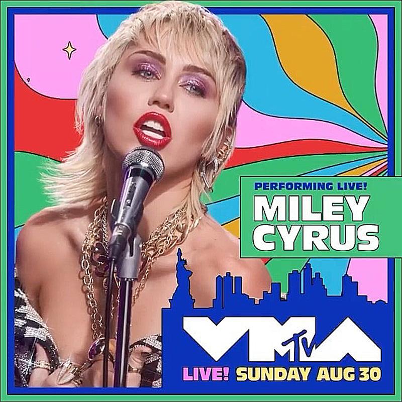 Miley on VMAS!