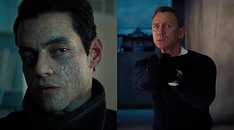Detalles sobre el personaje de Rami Malek son revelados en nuevo trailer de «007: Sin Tiempo para Morir»