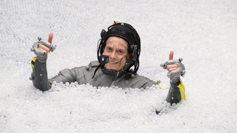 Sigourney Weaver en el detrás de escenas de «Avatar 2»
