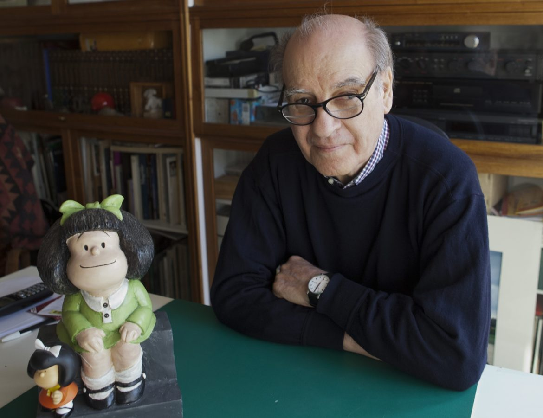 Quino, muere a los 88 años el creador de Mafalda