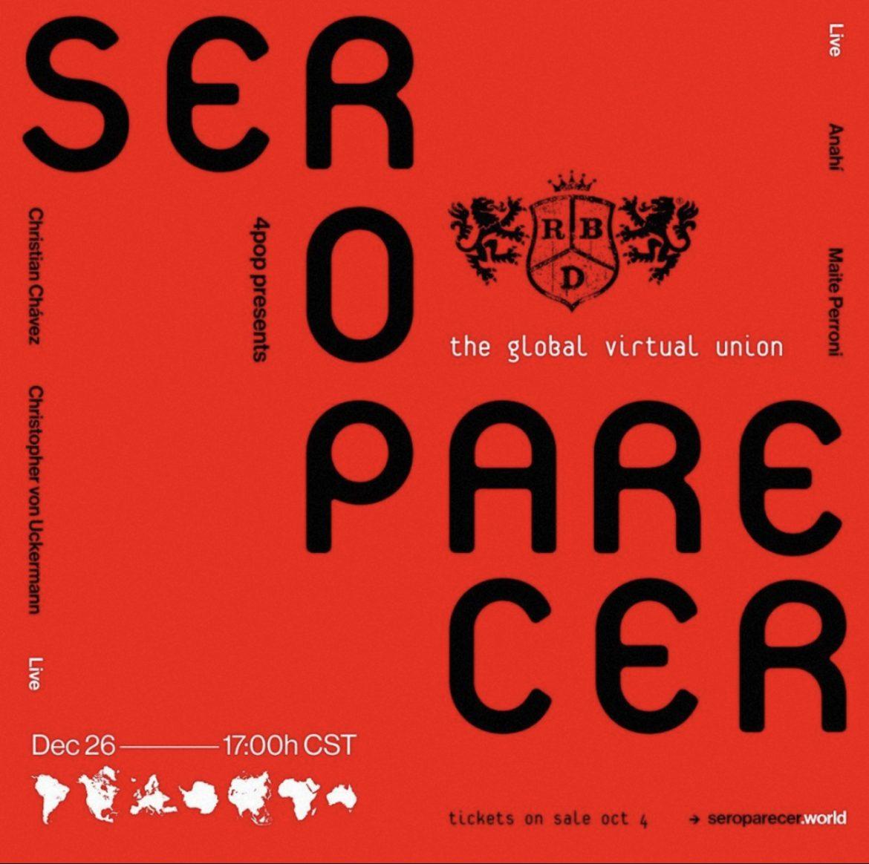 SORTEO: RBD «Ser o Parecer»