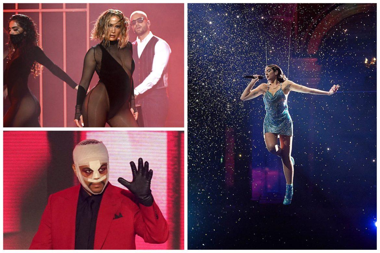 American Music Awards 2020: Dua Lipa, JLo y The Weeknd destacan en una nueva edición de los premios