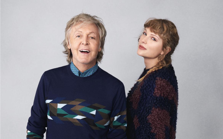 Paul McCartney y Taylor Swift se entrevistan entre ellxs en Rolling Stone