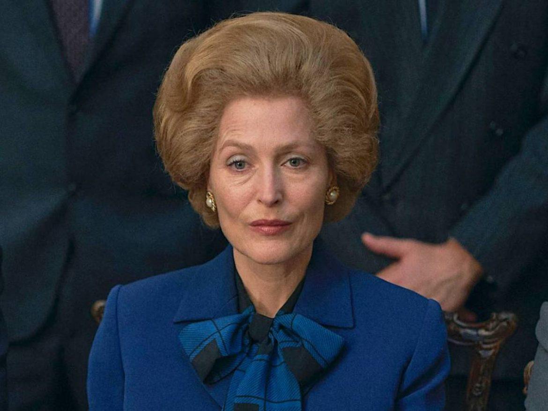 Gillian Anderson: «interpretar a Margaret Thatcher requirió mucha investigación»