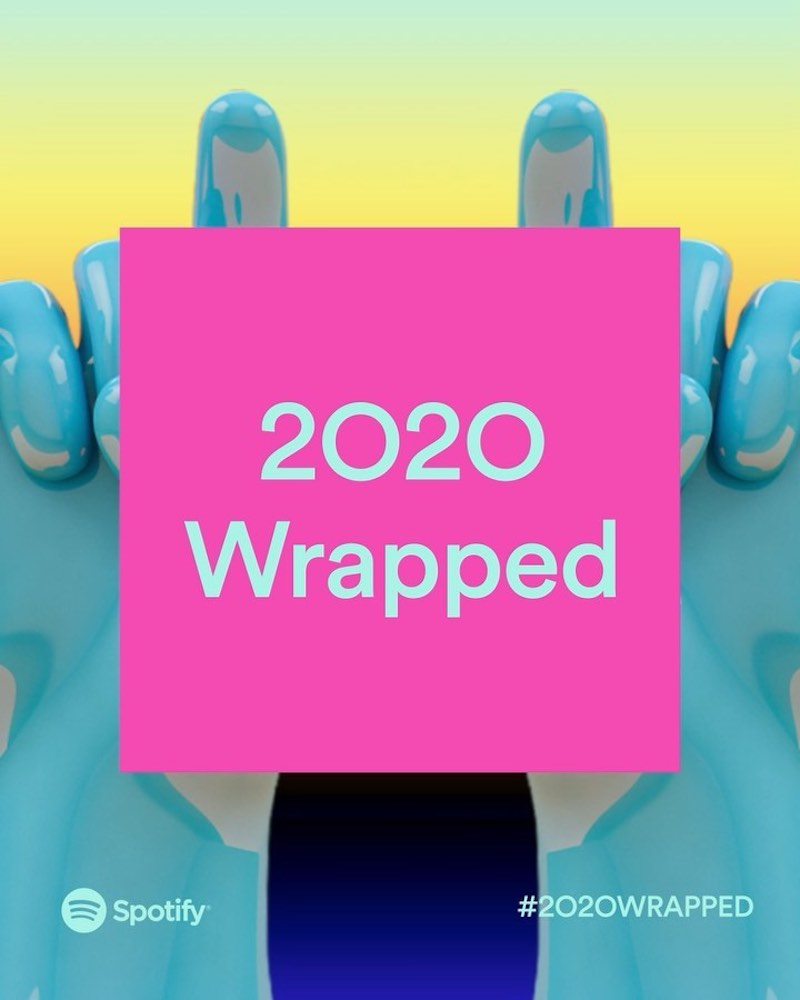 Spotify Wrapped 2020, descubrí la música que más escuchaste en el año!