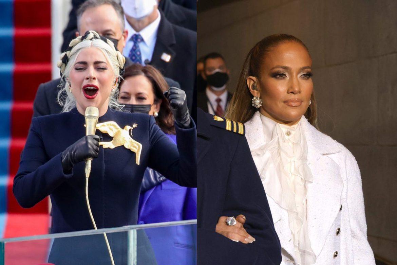 Lady Gaga y Jennifer Lopez brillaron en la toma de posesión de Joe Biden, el nuevo presidente de Estados Unidos