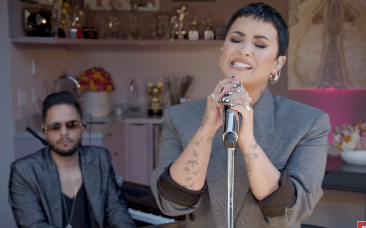 Demi Lovato pasó por Tiny Desk!