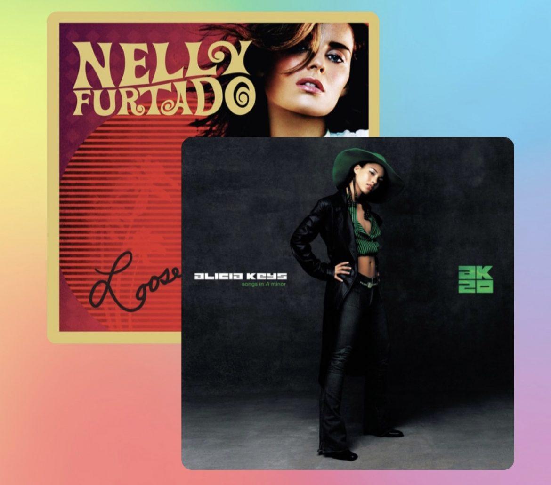 Versiones aniversario: Alicia Keys  y Nelly Furtado liberan versiones especiales de «Songs In A Minor» y «Loose»!