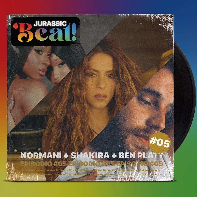 «NORMANI + SHAKIRA + BEN PLATT», nuevo episodio de Jurassic Beat!